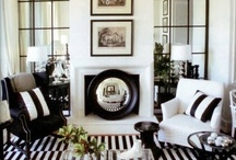 Black & White / by Linda @ Calling it Home