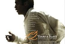 12 YEARS A SLAVE / Based on an incredible true story of one man's fight for survival and freedom.  In the pre-Civil War United States, Solomon Northup, a free black man from upstate New York, is abducted and sold into slavery.  Facing cruelty, as well as unexpected kindnesses, Solomon struggles not only to stay alive, but to retain his dignity.  In the twelfth year of his unforgettable odyssey, Solomon's chance meeting with a Canadian abolitionist will forever alter his life. - IN THEATERS OCTOBER 18TH -  / by Fox Searchlight