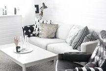 ¿BLANCO O NEGRO? / Ya desde los años 20 la decoración en blanco y negro es una garantía de sofisticación. Un tándem clásico que hoy en día sigue siendo un aval de lujo y refinamiento. Un eficaz juego de contrastes en busca de equilibrio: la pureza y la luminosidad aportadas por el blanco son matizadas por la suntuosidad del negro, color de la elegancia por antonomasia. / by Westwing España
