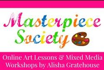 Masterpiece Society Art Blog / Online Art Lessons & Art Appreciation for Homeschool & After School | masterpiecesociety.com