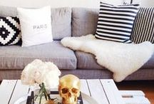 LIVING ROOM INSPIRATION / by Taryn {One Crafty Miss}