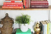 Styling Bookshelves / by Kris @ Driven by Decor