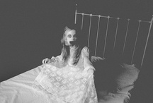 Haunted / ...ghostly abodes, spectral beings, eerie objects... / by Krissy