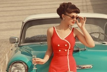 Vintage (30's, 40's & 50's) / When I think of vintage, I think of things from the 1940's and 1950's. All this reminds me of things my mom grew up with and photos I have of her from those eras. In my mind retro describes the 1960's and 1970's when I grew up. Anything before the 40's (1900 - 1930's) would be considered antique.