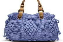 Crochet Purses / I love finding all these unique bags! This board is devoted to mostly crochet handbags and shoulder bags. See my other boards for Tote bags, market bags and small bags or cases.