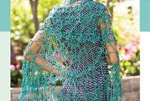 Shawls - Crochet / Triangular and circular shawls.