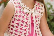 Vests - Crochet / Crochet vests - long and short