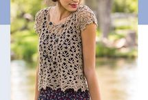 Crochet - Summer Tops / Crochet patterns for summer tops that are usually short sleeves and lightweight.