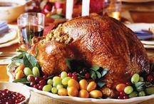 Thanksgiving Dinner Favorites / Dishes I would consider having for Thanksgiving or Christmas dinner, new and old recipes