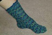 Socks - Crochet / Crochet sock patterns
