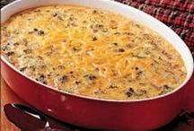 Casseroles / Potluck / Any cassefole recipe with any kind of food.