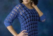 Tunics - Crochet / A tunic is a longer top.