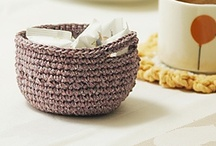 Crochet Baskets / Crochet basket patterns