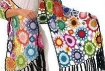 Circles in Crochet / I'm pinning all kinds of crochet projects on this board that are made from circles - crochet skirts, shawls, tops, purses, afghans and more!