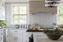 Kitchen Remodel Ideas / Gathering ideas and inspiration for the appliances, cabinets, tile, countertops, lighting, and all of the little things for my upcoming kitchen remodel!