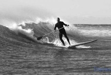 Stand up paddle board surfing / Stand up paddle board surfing