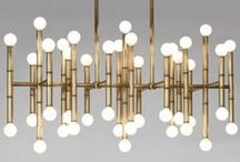 Brass Lighting & Furnishings / Brass is back! Check out our favorite brass lighting and home accessory designs.  / by Lumens