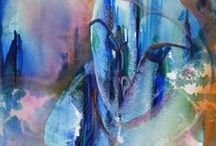 Watercolour by Marion Chapman / Watercolour paintings on fine art 300gsm paper. Enquiries mazchap@optusnet.com.au