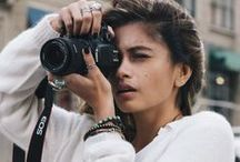 Women and Cameras / There is no better connection than a a women and her camera. We aim for the top and we are not afraid to go out of our comfort zone for that perfect shot.