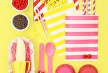 Summer Party Ideas / Summer Time Sweets & Party Ideas are all summer is about. From fruit parties, tropical luau parties, beach parties, pool parties, and everything in between. Find lots of recipes and party ideas right here! From summer sprinkles, cupcake liners, paper straws, and ice cream party cups and spoons, have a fun summer with all of our summer party supplies!