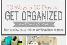 organization. / Ideas to help with OCD / by Melissa Flores