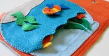 QUIET BOOKS / Lots of great ideas for quiets books (soft felt books that keep kids busy and learning).