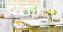 Kitchen Decor Ideas / Inspiration and decor ideas for kitchens.