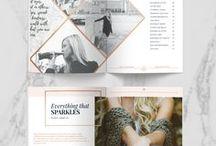 EDITORIAL DESIGNS / Editorial designs, magazine layouts, graphic design