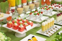 ENTERTAINING and PARTY IDEAS / Inspiration for entertaining and party planning: appetizers, decor ideas