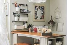 Home Office/Craftroom / by Melissa Flores