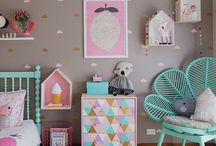 NURSERY DECOR and KIDS ROOMS / Decor ideas for children's bedrooms, nurseries and playrooms.