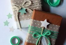 GIFT WRAPPING | PRESENTS / Ideas for beautifully wrapped gifts.