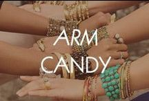 Arm Candy / Dress up your arm with fashionable bracelets that are sure to make a statement!