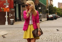 My Style: Spring/Summer Looks / Beautiful, colorful, casual clothes in yummy, warm weather make me happy!  / by Lisa M.