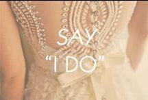 "Say ""I Do""  / by Amrita Singh Jewelry"