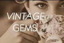 Vintage Gems / by Amrita Singh Jewelry