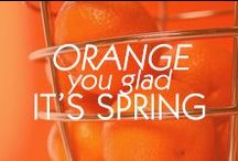 Orange you glad... / by Amrita Singh Jewelry