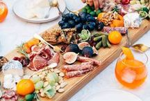 Perfect Party Appetizers / I love throwing get together so I made a board of my favorite appetizer ideas. This is L.A. so most are healthy and sometimes will add my own twist for some extra tastyness.