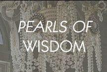 Pearls of Wisdom / by Amrita Singh Jewelry