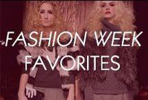 Fashion Week Favorites! / Runway Fashion