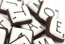 scrabble day party ideas / by Onnolee Schell