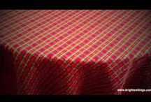 Tablecloth Fabric Videos / These videos discuss many important aspects of our tablecloth fabrics and provide you with closeup views so you can get a better idea of how they'll look on your table. This board is a work in progress... we currently have videos for 58 of our most popular fabrics. Throughout the coming weeks we'll be adding descriptions and comments. We have 200+ fabrics to make tablecloths from, so there are more videos on the way.