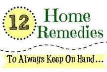 home remedies. / tips, home remedies, how to's / by Melissa Flores