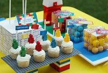 LEGO BIRTHDAY PARTY / Ideas for a Lego inspired birthday party: cakes, decorations, food and more.