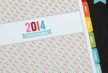 2014 Everyday Planner / NEW 2015 & 2016 versions available!!  VIEW EVERYTHING INCLUDED HERE http://misstiina.com/planners  PERSONAL USE only!  FREE PLANNER PRINTABLES http://misstiina.com/blog/free/planner-printables