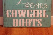Cowboy boots / by Courtney Duncan