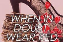 When in doubt, wear RED / by Amrita Singh Jewelry