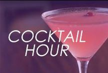 Cocktail Hour / #drink #cocktail #booze #happyhour #alcohol #martini #party #club #dance #nightout #recipe #shot #mixeddrink / by Amrita Singh Jewelry
