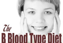blood type. / food, diet & more / by Melissa Flores