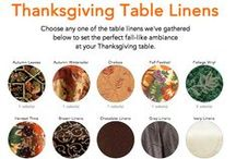 Thanksgiving Collection / All of our tablecloths and table linen products with Thanksgiving themes and colors . #Thanksgiving #tablecloths #tablelinens